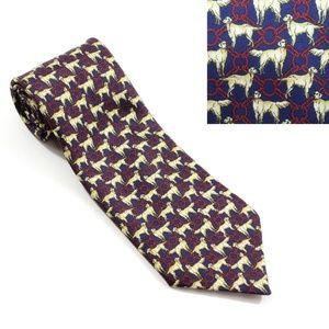 Vintage Huntington Labrador Silk Necktie